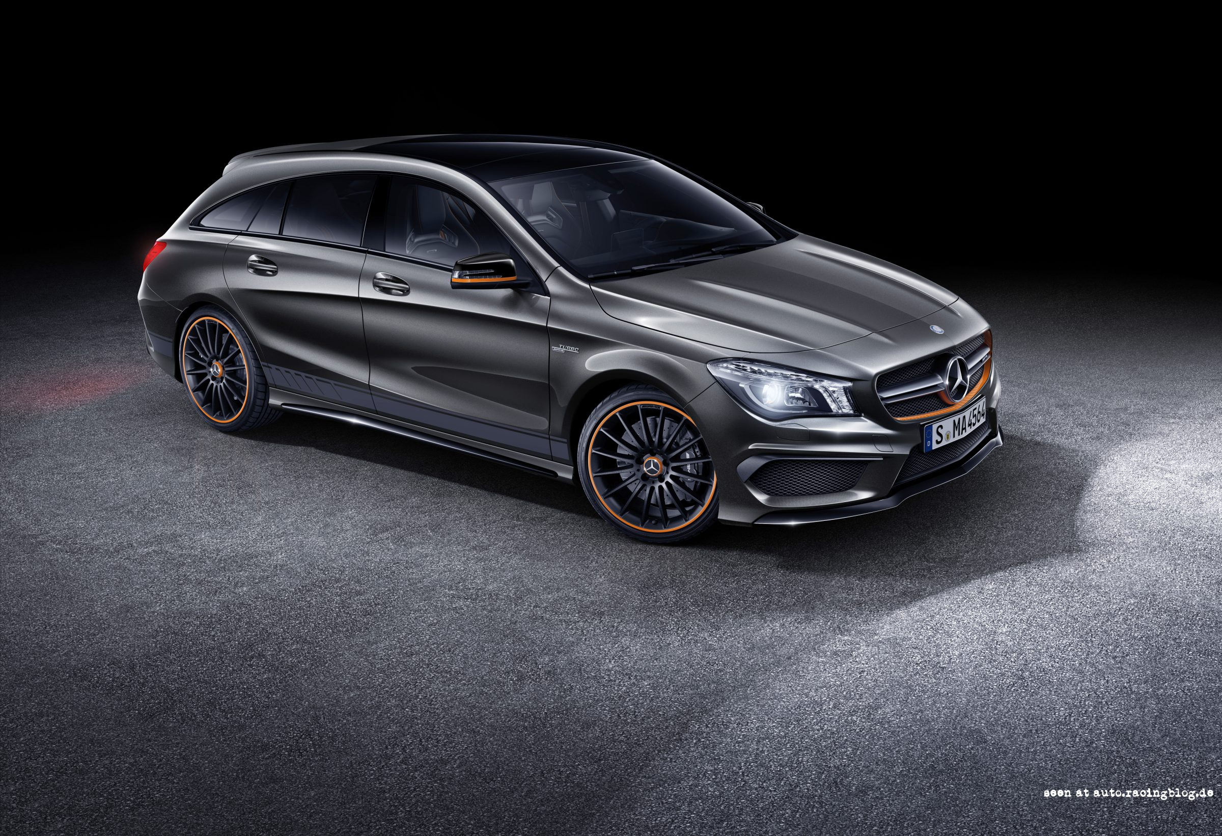 mercedes amg cla 45 shooting brake x 117 2014 racingblog cars. Black Bedroom Furniture Sets. Home Design Ideas